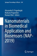Nanomaterials In Biomedical Application And Biosensors Nap 2019  Book PDF