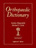 Orthopaedic Dictionary ebook