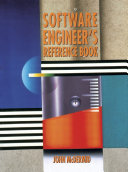 Pdf Software Engineer's Reference Book Telecharger