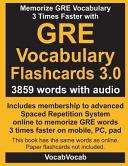 GRE Vocabulary Flashcards 3 0