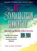 The Niv Standard Lesson Commentary 1999 2000