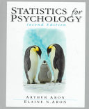 Statistics For Psychology Book PDF