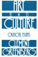 Art and Culture Book