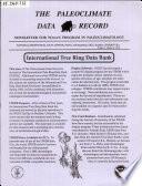 The Paleoclimate Data Record Book