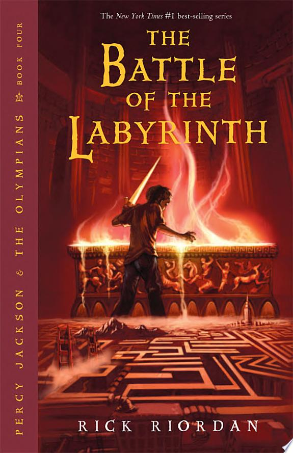 Battle of the Labyrinth, The (Percy Jackson and the Olympians, Book 4) banner backdrop