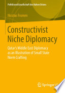 Constructivist Niche Diplomacy Book