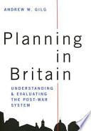 Planning In Britain