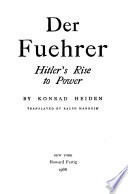 Der Fuehrer: Hitler's Rise to Power