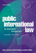 Public International Law: An Australian Perspective