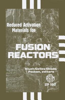 Reduced Activation Materials for Fusion Reactors