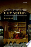 A New History of the Humanities Book