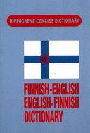 Pdf Finnish-English, English-Finnish Dictionary