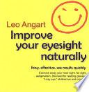Improve Your Eyesight Naturally