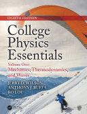 College Physics Essentials, Eighth Edition Pdf/ePub eBook