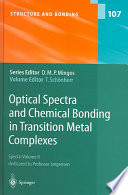 Optical Spectra and Chemical Bonding in Transition Metal Complexes Book