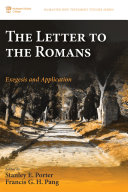Pdf The Letter to the Romans Telecharger