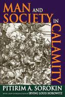 Pdf Man and Society in Calamity