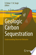 Geologic Carbon Sequestration