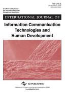 International Journal of Information Communication Technologies and Human Development  Vol 4 ISS 1