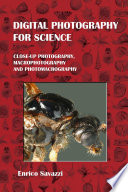 Digital Photography For Science Book PDF