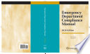 Emergency Department Compliance Manual  2018 Edition Book