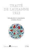 Pdf Traité de Lausanne 1923 Telecharger