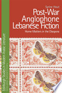 Post War Anglophone Lebanese Fiction