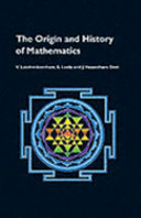 Origin and History of Mathematics Book