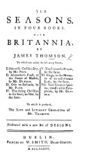Pdf The Seasons ... With Britannia. By James Thomson ... Ode on St. Cecilia's Day, by Mr Pope ... Alexander's Feast ... by Mr Dryden. ... To which is Prefixed the Life and Literary Character of Mr Thomson. Illustrated with a New Set of Designs