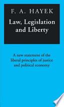 Law  Legislation and Liberty