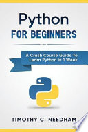 Python: for Beginners