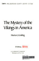 The Mystery of the Vikings in America