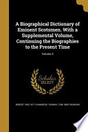 BIOGRAPHICAL DICT OF EMINENT S