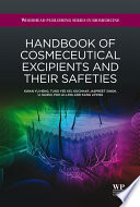 Handbook of Cosmeceutical Excipients and their Safeties