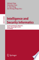 Intelligence And Security Informatics Book PDF