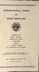 International Order of Good Templars