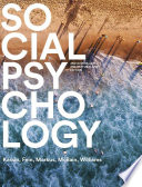 Cover of Social Psychology Australian & New Zealand Edition