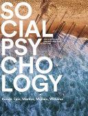 Social Psychology Australian & New Zealand Edition