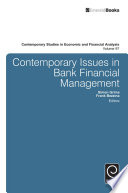Contemporary Issues in Bank Financial Management