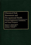 Pdf Chemical Risk Assessment and Occupational Health
