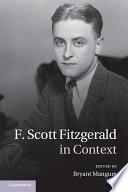 F  Scott Fitzgerald in Context