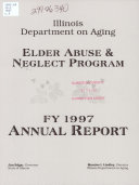 Elder Abuse and Neglect Program