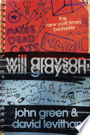 Will Grayson, Will Grayson John Green, David Levithan Cover