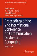 Pdf Proceedings of the 2nd International Conference on Communication, Devices and Computing