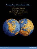 Intermediate Algebra for College Students  Pearson New International Edition PDF eBook Book