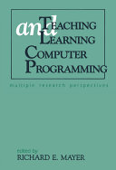 Teaching and Learning Computer Programming