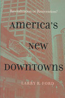 America's New Downtowns