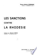 Les sanctions contre la Rhodésie