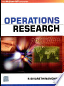"""""""Operations Research"""" by Sivarethinamohan"""
