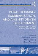 Rural Housing, Exurbanization, and Amenity-Driven Development Pdf/ePub eBook